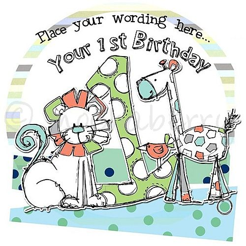 Personalised Boys First Birthday Card Bubbles By August: Personalised Boy 1st Birthday Cards